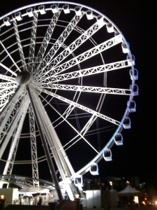 The mighty wheel!