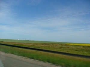 Visit to Regina... flat, wide open spaces!