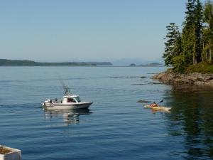 Telegraph Cove on Vancouver Island.